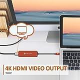 NOVOO USB C Hub 5 in 1 HDMI 4K Adapter, 2 USB 3.0