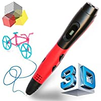 Manve Professional 3D Pen with OLED Display, PLA Filament Support. (3D Drawing Model Making Doodle Arts & Crafts Drawing) from TIPEYE