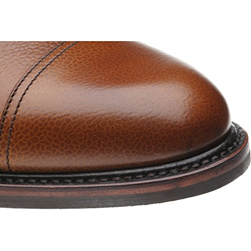 Herring aringa Teignmouth stivali in tan grain