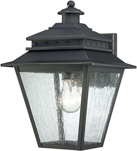 Quoizel CAN8409WB Carson 9-Inch Wide 1 Light Outdoor Wall Fixture