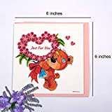 Love Card for her - Quilling Greeting Cards