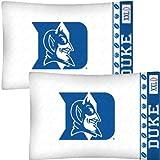 NCAA Duke Blue Devils Football Set of Two Pillowcases