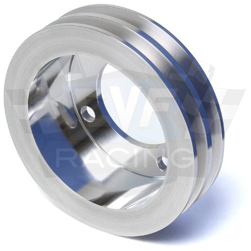 2V Crankshaft Pulley for Ford Racing Short Water Pump V-Belt