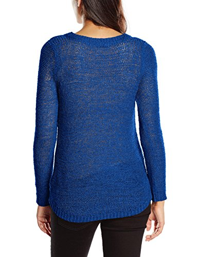 L Xo Donna Noos Knt The s Web Surf surf Pullover Onlgeena Only Blu Felpa Web aE8n55