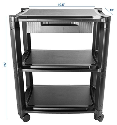 Vivo Height Adjustable Mobile Computer Machine Cart Smart