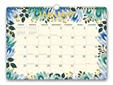 Orange Circle Studio 2019 Deluxe Wall Calendar, August 2018 - December 2019, Flower Power