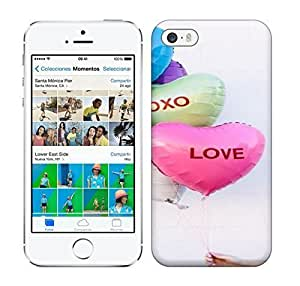 Best Power(Tm) HD Colorful Painted Watercolor Diy Conversation Heart Balloons Hard For SamSung Galaxy S5 Phone Case Cover