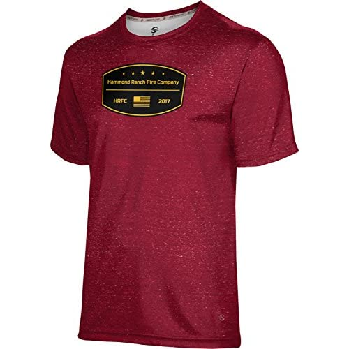 top ProSphere Boys' Hammond Ranch Fire Company Fire Department Heather Shirt (Apparel) free shipping
