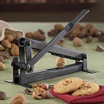 1 X Get Crackin' Nut Cracker-Black Walnut, English Walnut, Pecan, Hazel Nut, Filbertnut, Macadamia