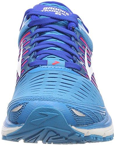 Brooks Transcend 5, Scarpe da Running Donna Grigio (Blue/Pink/White 1b474)