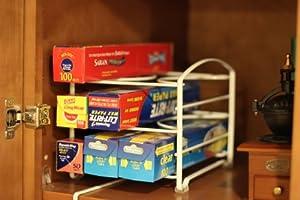 "DecoBros Kitchen Wrap Organizer Rack (Small / Standard, 2-1/2"" BOX)"