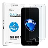 OMOTON iPhone 7 Plus Screen Protector [2 Pack]- [9H Hardness] [Crystal Clear] [Bubble Free] [3D Touch Compatible] Tempered Glass Screen Protector for Apple iPhone 7 Plus (Wireless Phone Accessory)