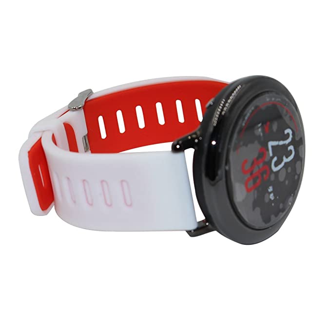 Budesi 22mm Quick Release Smartwatch Soft Silicone Replacement Band Wristband Strap for Moto 360 2 2nd Gen Man(46mm)/Samsung Gear S3 / LG G Watch ...
