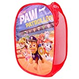 RDI Paw Patrol Pop-Up Laundry Hamper-Easy to Open and Folds Flat for Storage (Red)