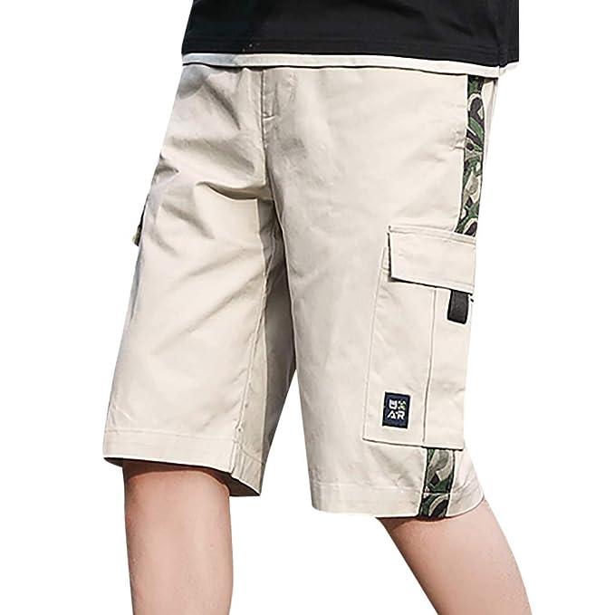 NINGNETI Pantalones Cortos De Bolsillo De Trabajo Al Aire ...