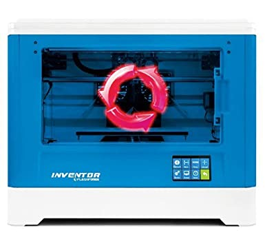 Flashforge inventor 3D printer by Technologyoutlet with free Glass Bed