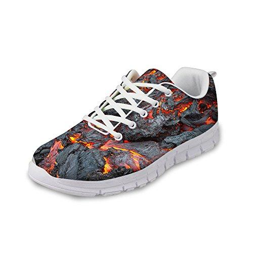 aba69ea4e01 Voor U Ontwerpen Mode Unisex Flex Gusto Runner Mesh Ademend Sneaker  Hardloopschoenen Grijs 4 ...