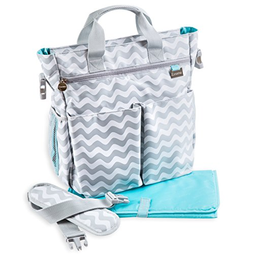 Diaper Bag by Liname – Premium Quality Stylish Diaper Bag With Changing Pad & Adjustable Shoulder Strap Included