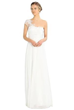 Robe de mariee une seule manche