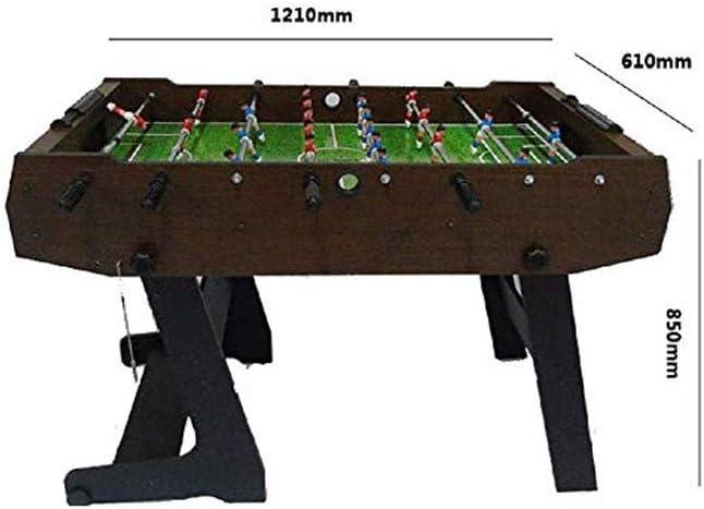 SYXX Mesa plegable Mesa de fútbol, Futbolín, Futbolín Interior ...