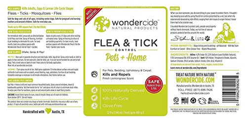 Large Product Image of Wondercide Natural Flea & Tick Control for Pets Home - Cedar & Lemongrass - 32 oz