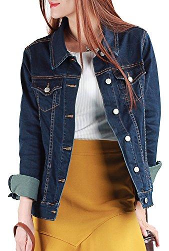 blue denim jacket - 6