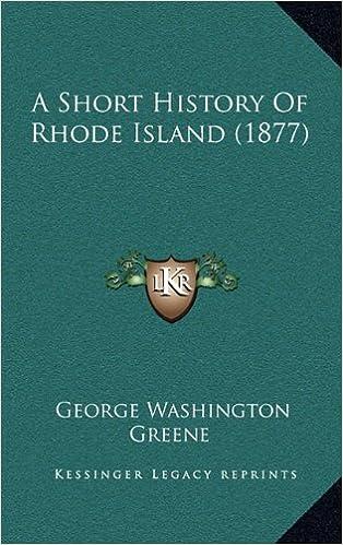 Book A Short History of Rhode Island (1877)