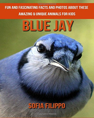 Blue Jay: Fun and Fascinating Facts and Photos about These Amazing & Unique Animals for Kids pdf epub