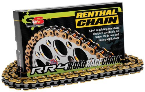 (520 RR4 SRS Road Race Chain - 130 Links, Manufacturer: Renthal, RENT CHAIN RR4 520-130)
