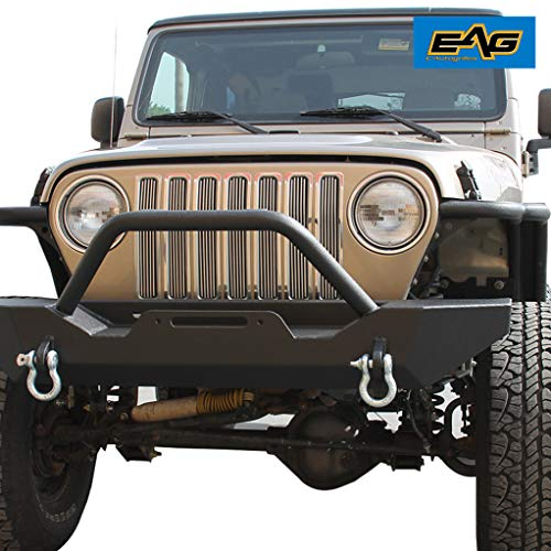 EAG Chrome Billet Grille+Shell for 99-06 Jeep Wrangler