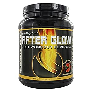 BioRhythm AfterGlow Post Workout Protein Supplement – ORIGINAL FLAVOR - Macronutrient Enhanced Recovery Powder, Build Muscle Faster & Recover More Completely.- Awesome Flavors – Watermelon 2.12 lbs