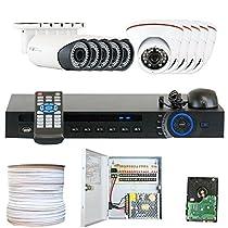 GW Security Inc VD12CHC8 16 Channel HDCVI DVR Camera System