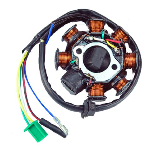 51QOMHuoFPL amazon com new ac magneto stator 8 coil 8 pole 5 wire gy6 125cc gy6 8 pole stator wiring diagram at n-0.co