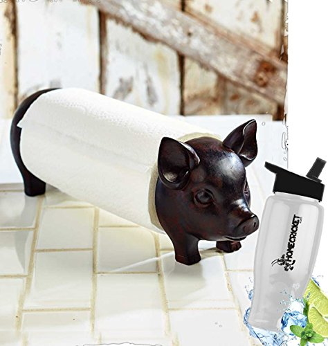 Gift Included- Decorative Farmhouse Kitchen Countertop Pig P