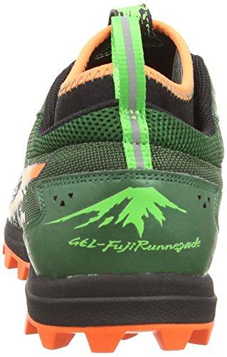 asics Gel-Fujirunnegade - Multisport Outdoor de sintético hombre verde - Green (Olive/Light Olive 8685)