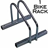 EasyGo Floor Stationary Single Bike Wheel Rack, Indoor – Outdoor Bike Stand