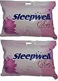 Sleepwell Vibes-XL Fibre Pillow - Pack of 2
