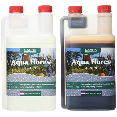 Canna Aqua Flores A & B, 1 L, Set of 2 supplier VI0Ky03M