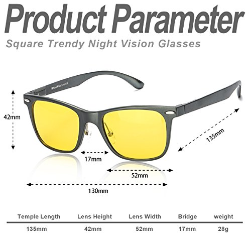 Protección UVB Grandes Nocturna amp; Lente Visión Conduccion Gris para Gafas UVA 100 Anti Amarilla Polarizadas HD Metal Ultraligero Reflectante Hombre de rxwqYrHUSZ