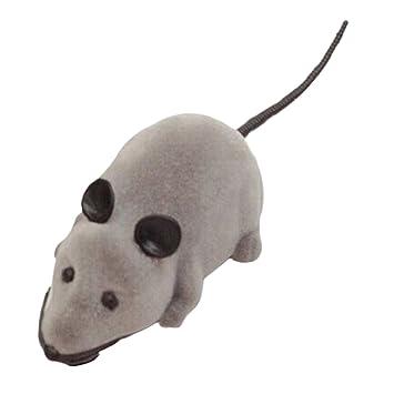 Ratón para gato perro, YIFAN eléctrico Control remoto ratón rata Pet Cat Toys Ratón Kids