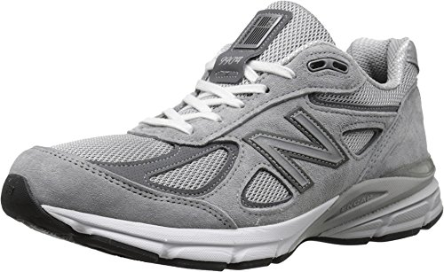 New Balance Men's M990GL4 Running Shoe, Grey/Castle Rock, 8.5 D US