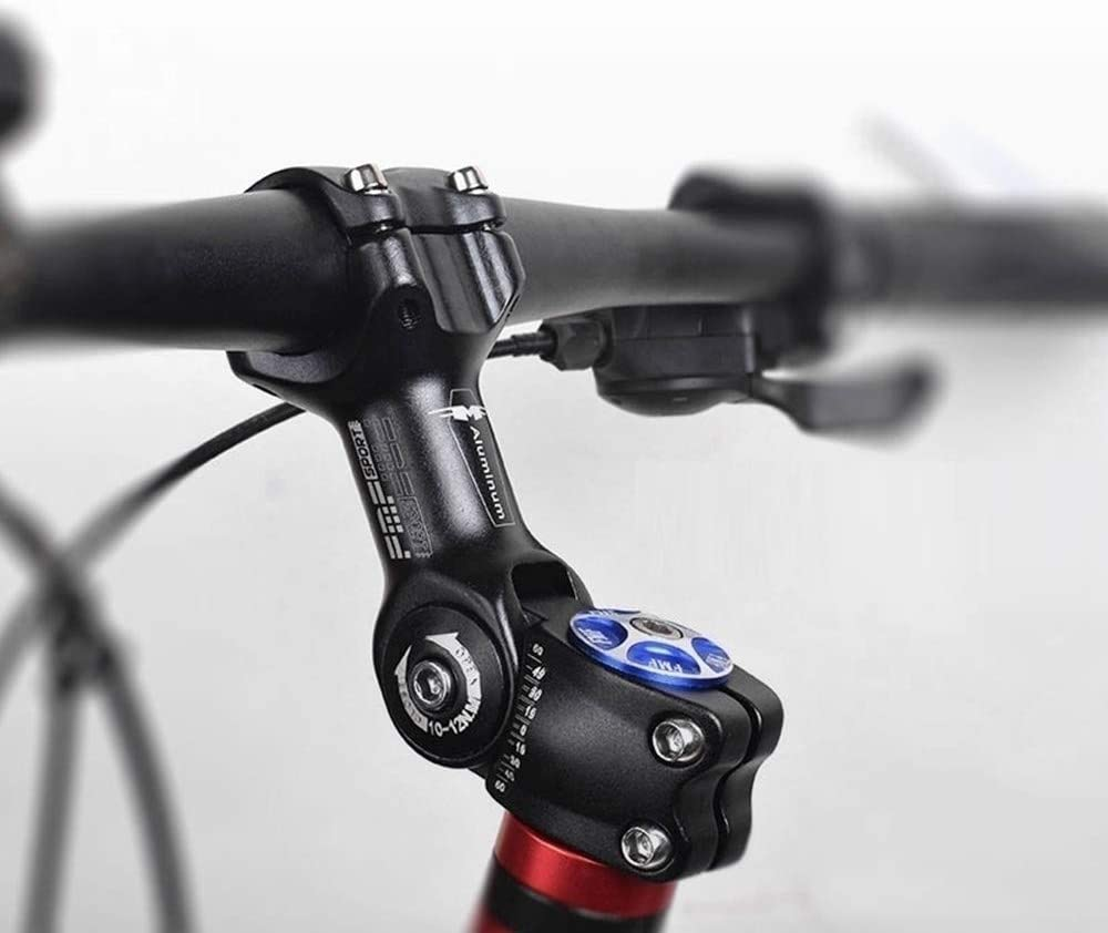 DONGKER Mountain Bicycle Stem Road Bike Adjustable Bike Handlebar Stem Clamp Fork Extender Handle Stand Tube 25.4//31.8 for Most Bicycle