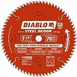 Freud D0770F Diablo Steel Demon Ferrous Cutting Saw Blade 7-1/4-Inch by 70t 5/8-Inch arbor