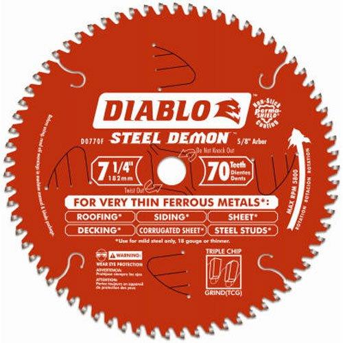 (Diablo D0770F Steel Demon Ferrous Cutting Saw)