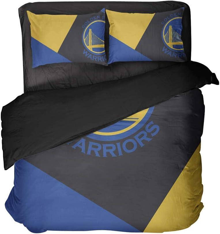 Cospnt Oakland City Bed Sets Modern Pattern Basketball Sports Bedding Sheet Sets Full 3PCS (Multi, Twin 3pcs)