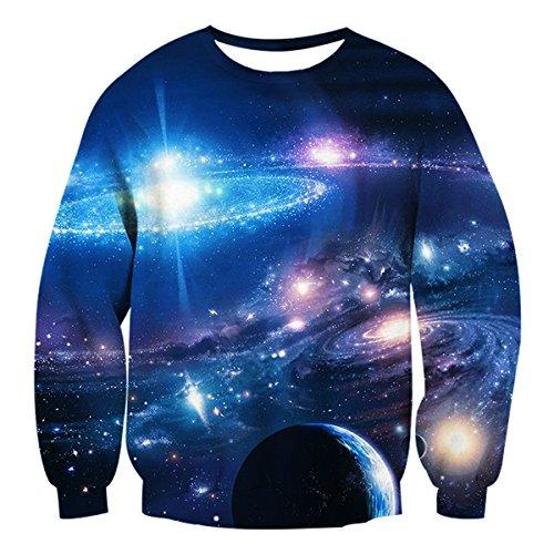 space galaxy sweatshirt - 8