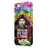 Snoop Dogg Aint Nothing But That G Thang Trippy Weed iPhone 5, iPhone 5S Hard Plastic Phone Case Cover