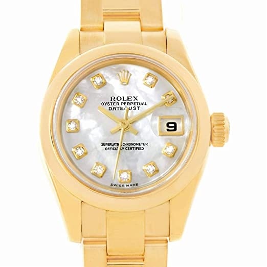 Rolex automatic-self-wind - Reloj (Certificado) de segunda mano: Rolex: Amazon.es: Relojes