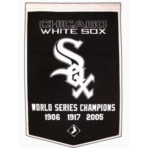 Chicago White Sox World Series Championship Dynasty Banner - with hanging rod (Sox Dynasty Series)