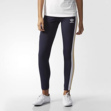 eb01e4fc14049 adidas Originals X Rita Ora Cosmic Confession Leggings - 6 - Navy Yellow:  Amazon.co.uk: Clothing